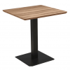 Oak Brown Square 70x70 MDF Dining Table