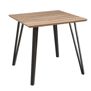 Square MDF Dining Table 80x80