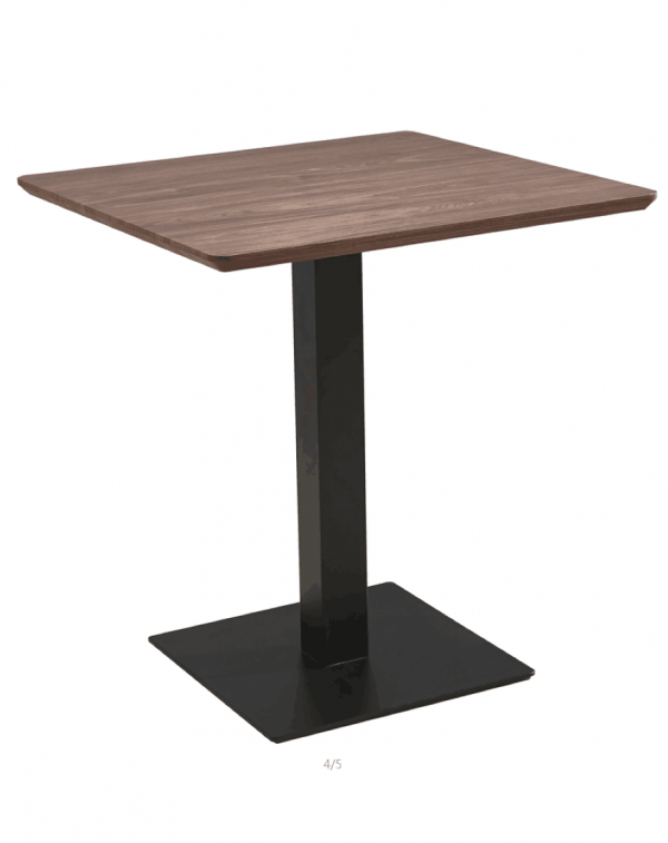 Walnut Square 70x70 MDF Dining Table