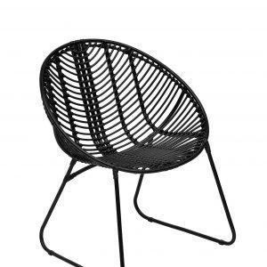 หวายเทียม Moon Chair