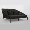 Washington Daybed-Charcoal