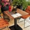 โต๊ะทานข้าว DT419-02 70x70 Walnut