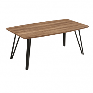 CT422 โต๊ะกาแฟ MDF 110cm หัวโค้ง