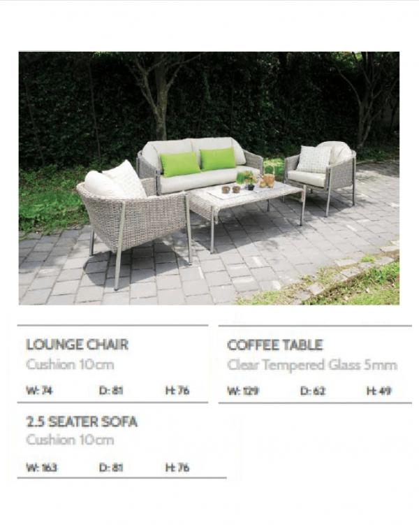 Canary Sofa Living Set 2