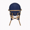 Dayak Bistro Chair - Blue 3