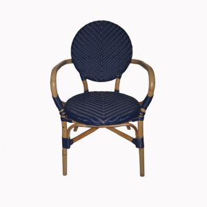 Dayak Bistro Chair - Blue