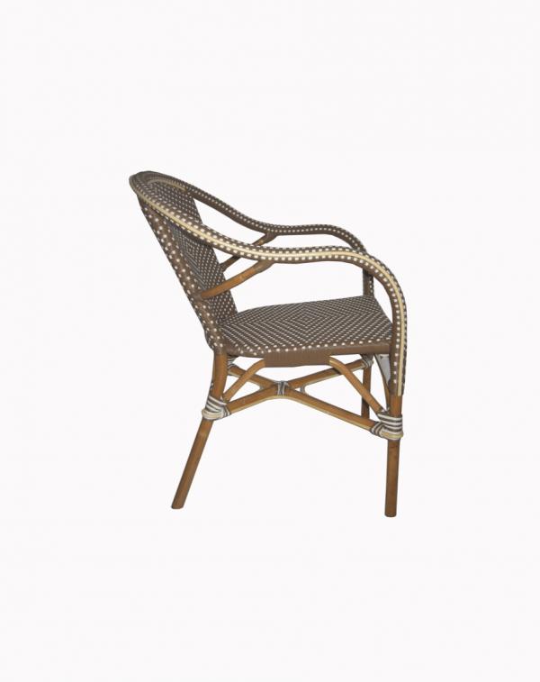 Lyon Bistro Cappucino Chair 2