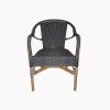 Lyon Bistro Navy Blue Chair