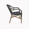 Lyon Bistro Navy Blue Chair 2