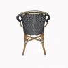 Lyon Bistro Navy Blue Chair 3
