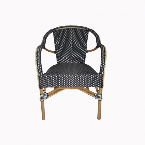 Lyon Bistro Navy Blue Chair