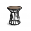 Drum Side Table H - Charcoal