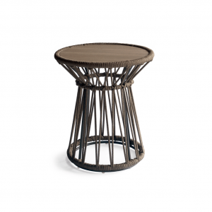 Drum Side Table H - Urban Bronze