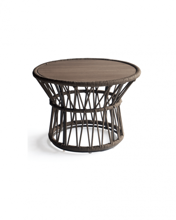 Drum Side Table L - Urban Bronze