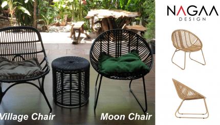 เก้าอี้วหวายเทียม relax chair